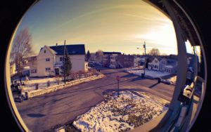 Photo fisheye
